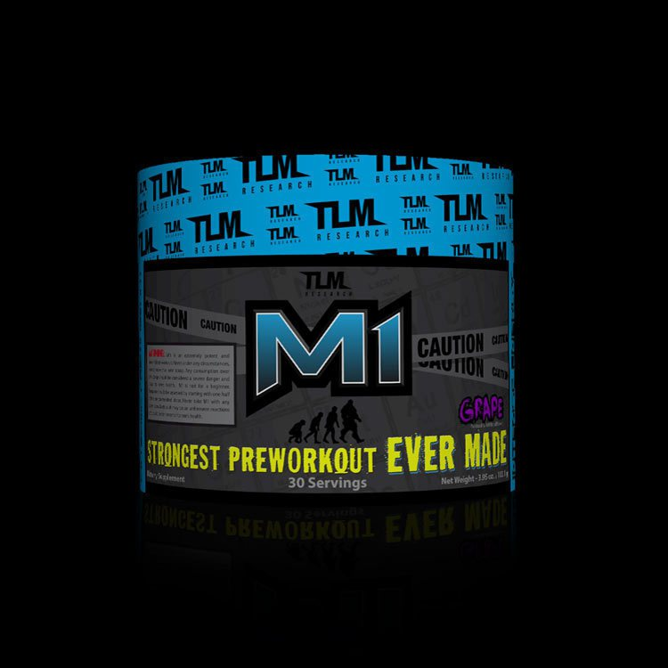 TLM RESEARCH M1 STRONGEST PRE-WORKOUT EVER